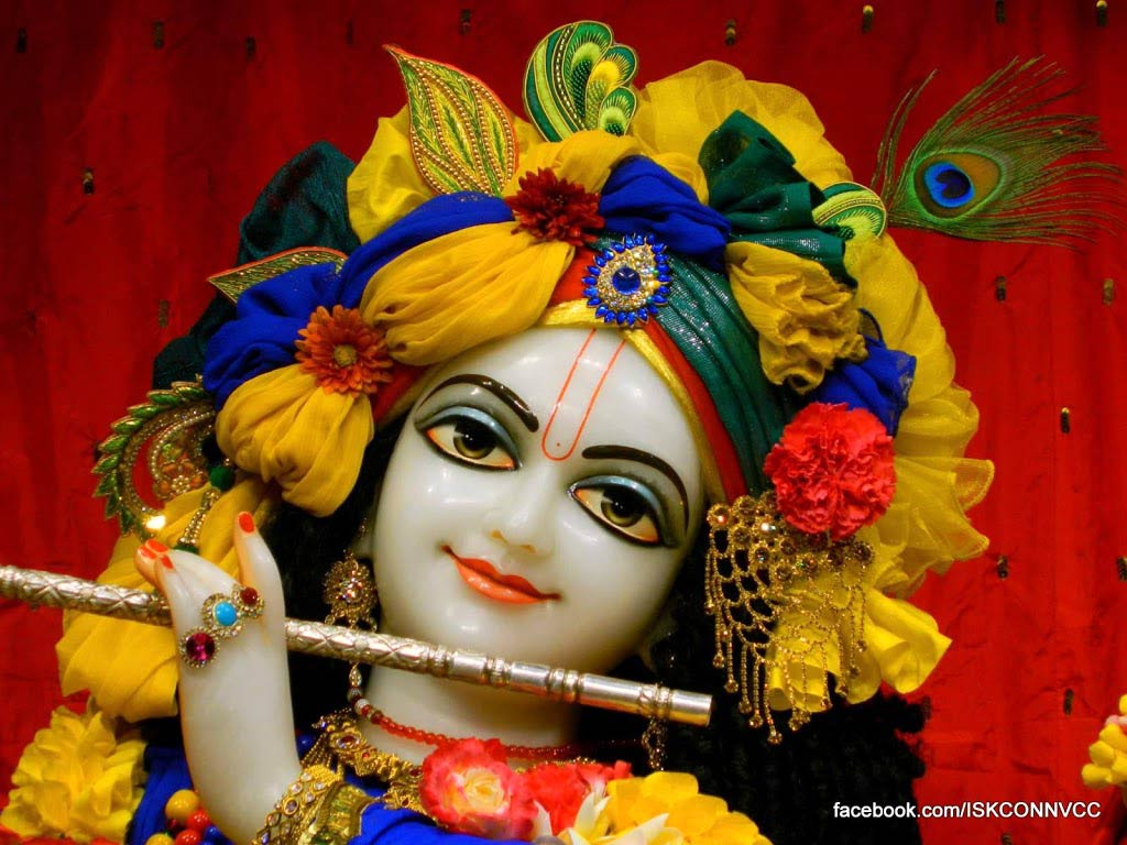 iskcon temple krishna wallpaper