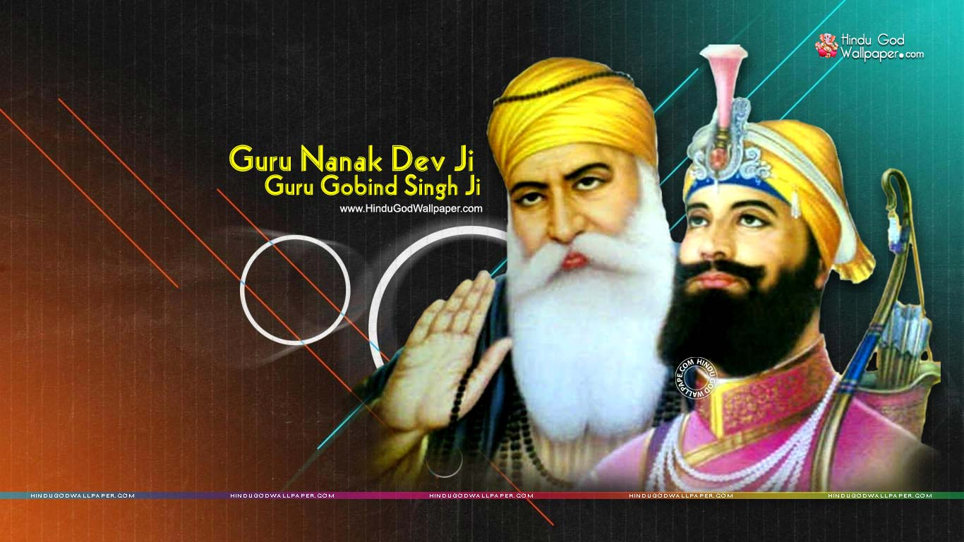 Guru Nanak Dev Guru Gobind Singh Ji Hd Wallpapers Download