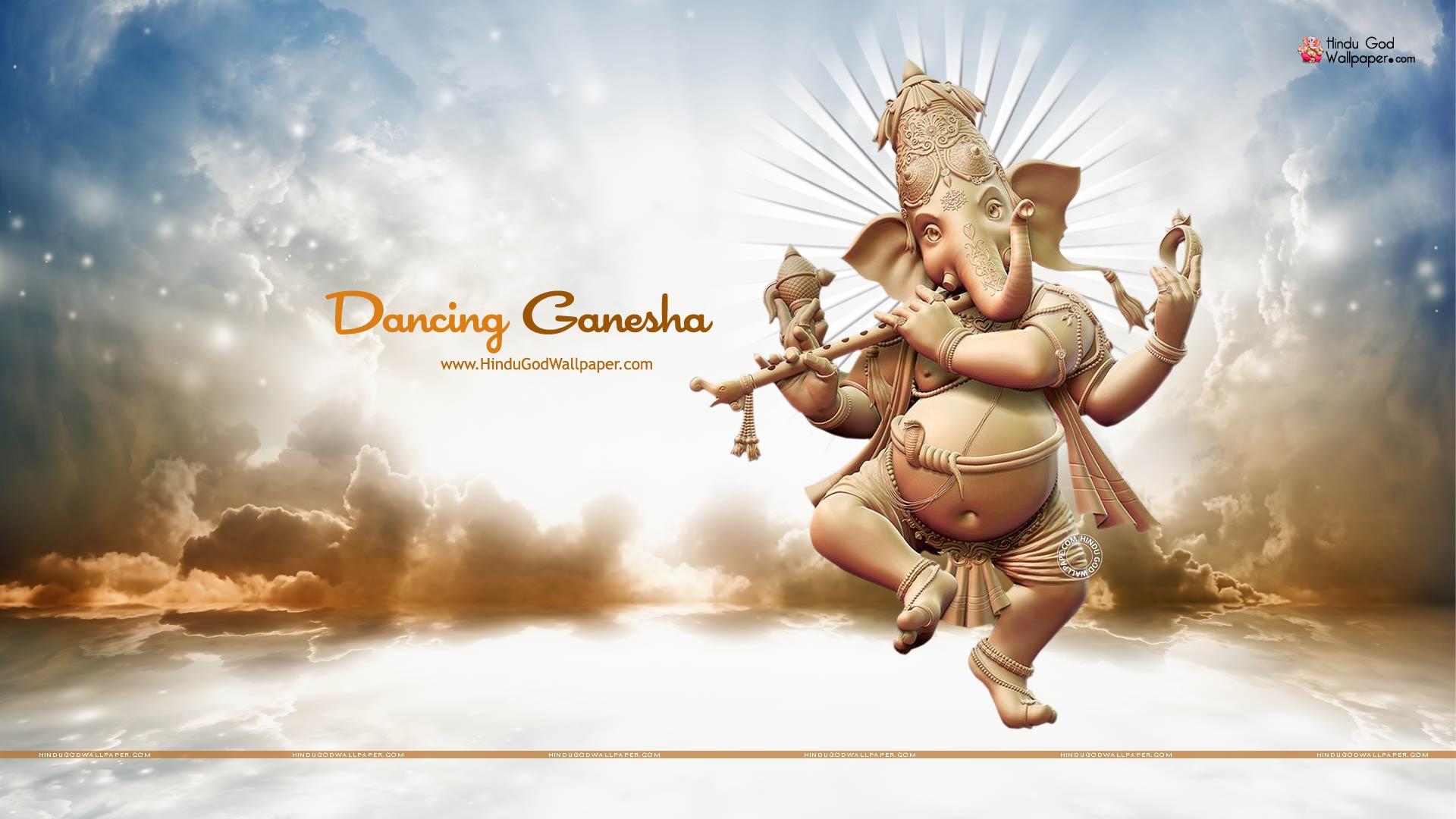 dancing ganesh hd wallpaper