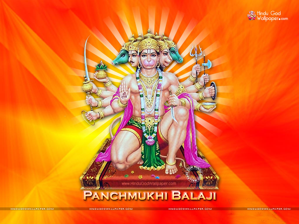 panchmukhi balaji wallpaper