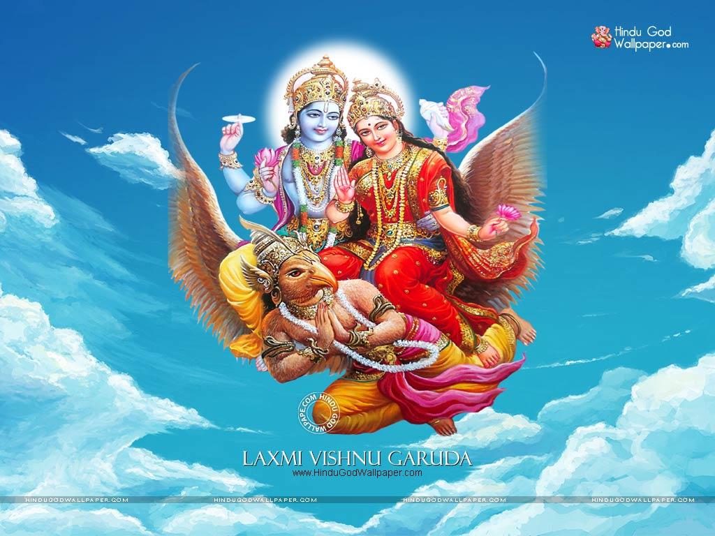 laxmi vishnu garuda wallpaper images photos free download