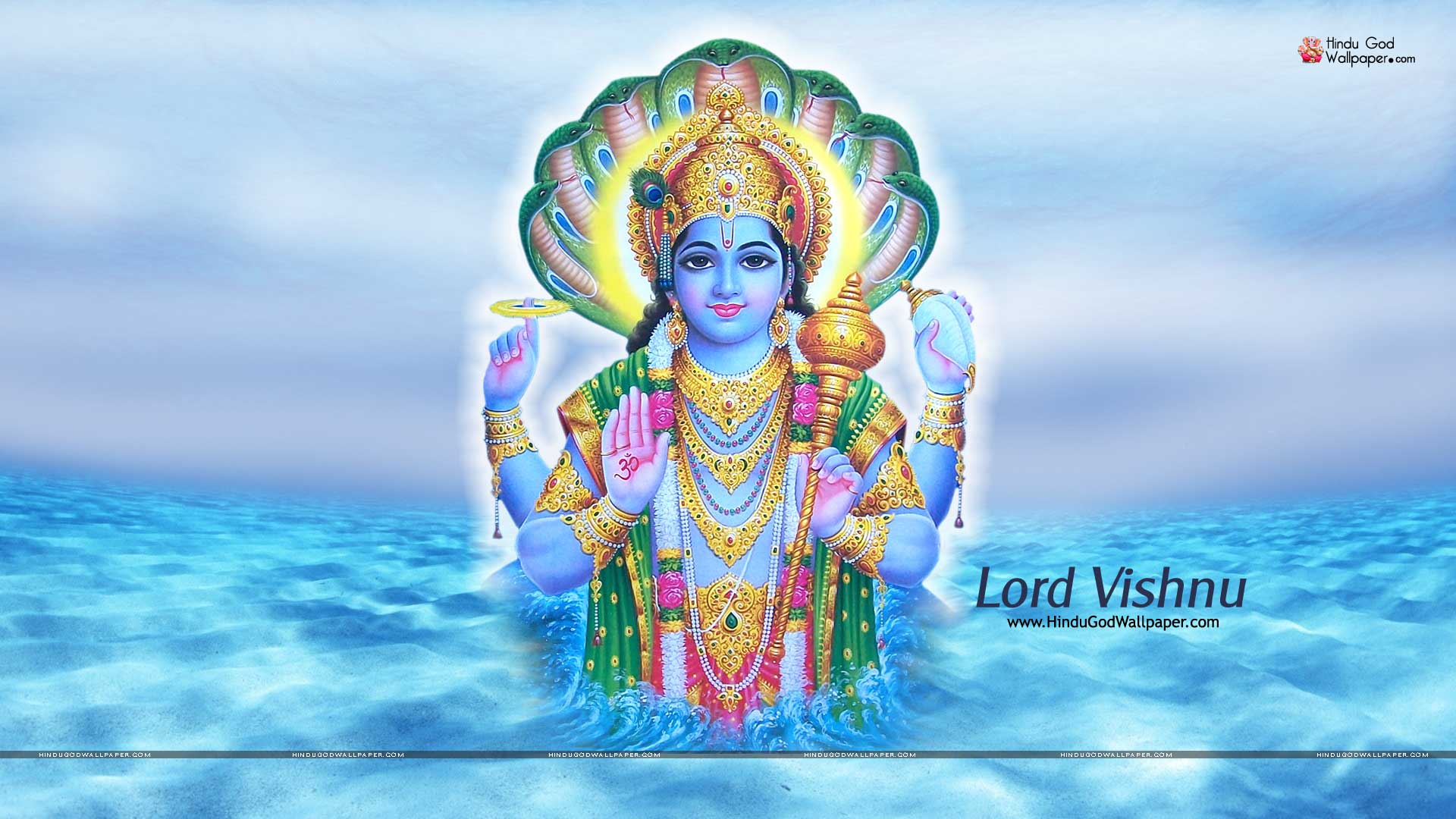 lord vishnu wallpaper full size