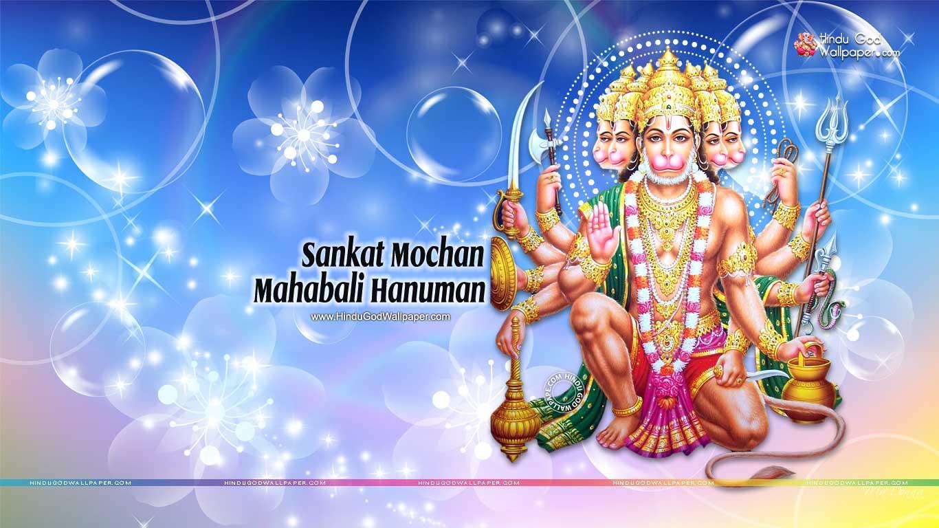 Hd wallpaper hanuman - Sankat Mochan Mahabali Hanuman Hd Wallpaper