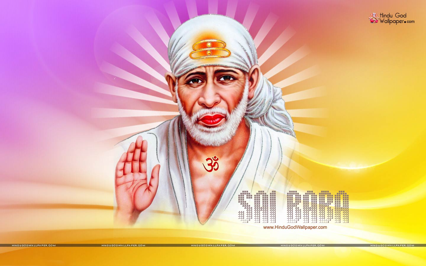 Sai Baba Wallpaper Full Size Hd Images Photos Free Download