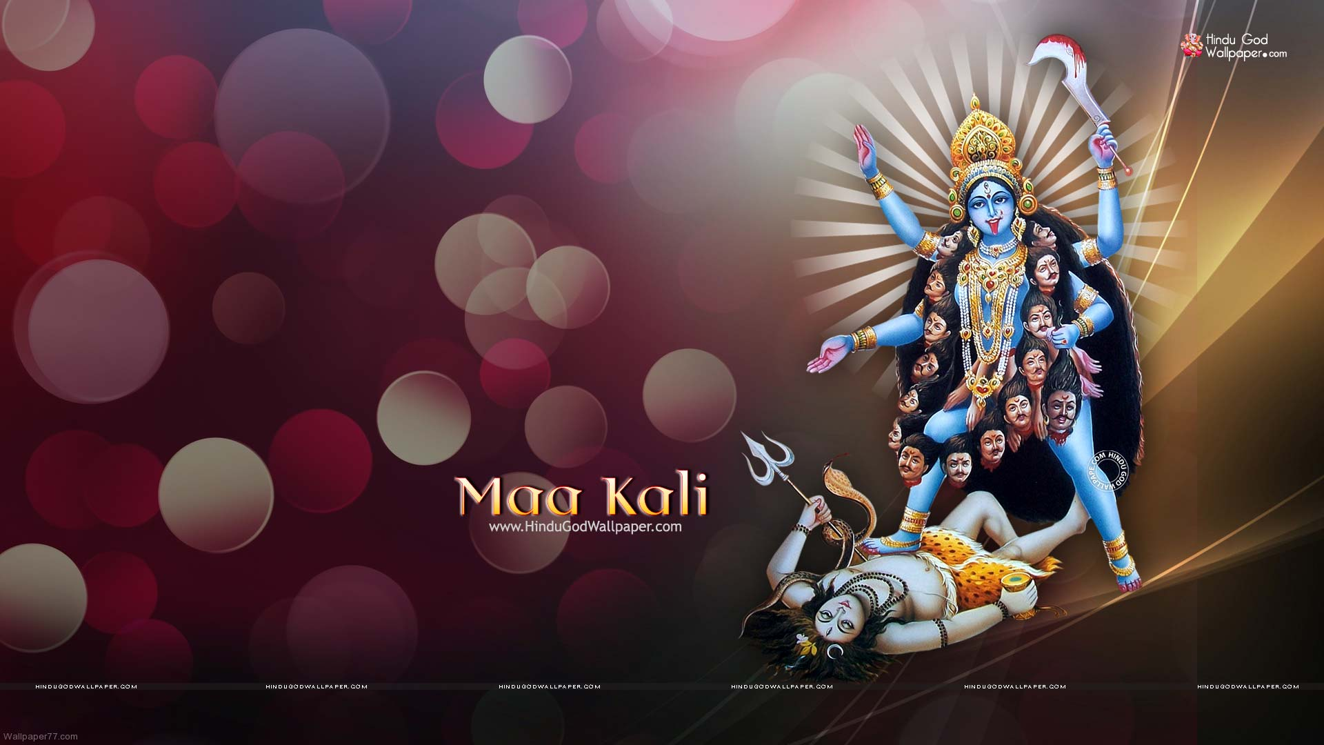 1080p Maa Kali Hd Wallpapers Full Size Images Free Download