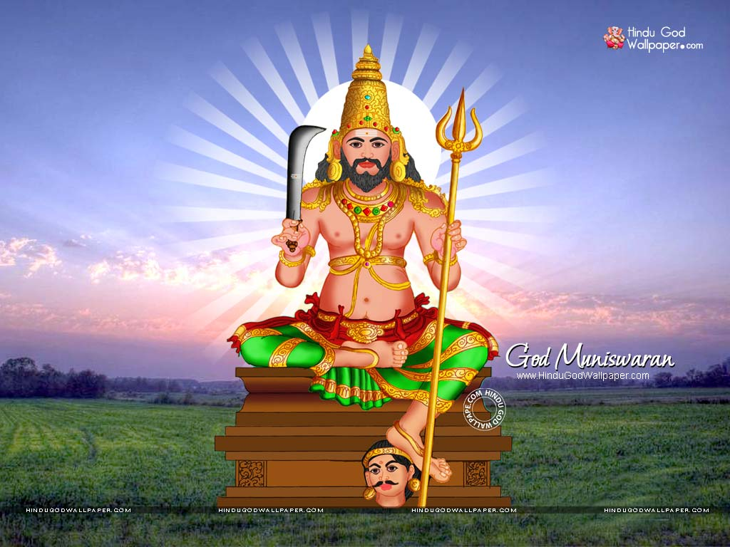 god muniswaran wallpaper