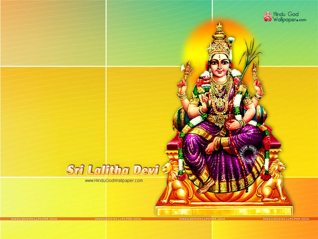 sri lalitha devi wallpaper