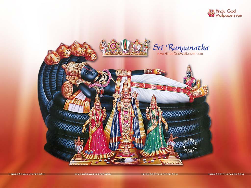 sri ranganatha wallpaper