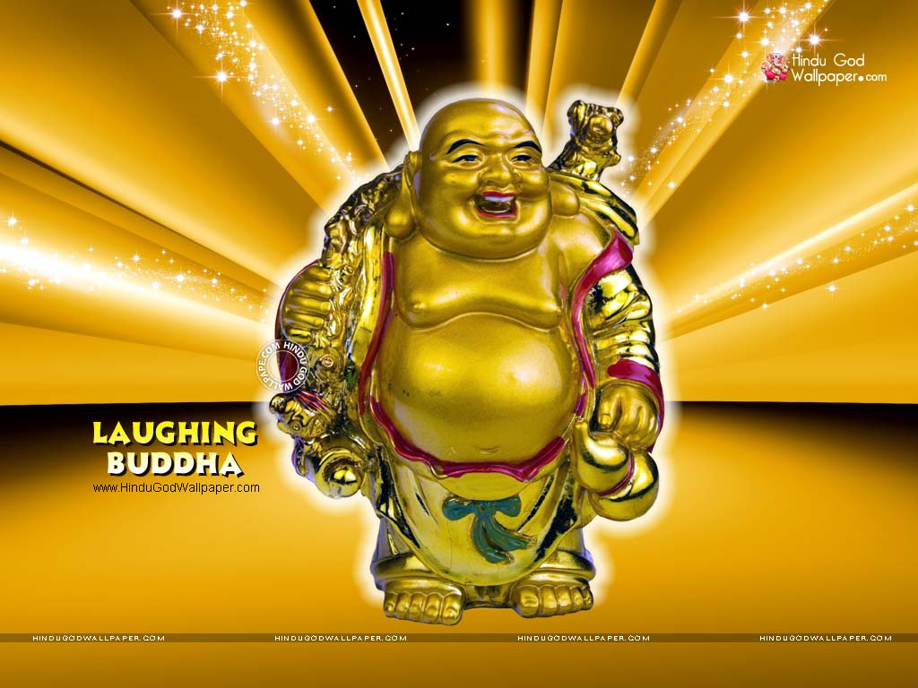 laughing buddha wallpaper