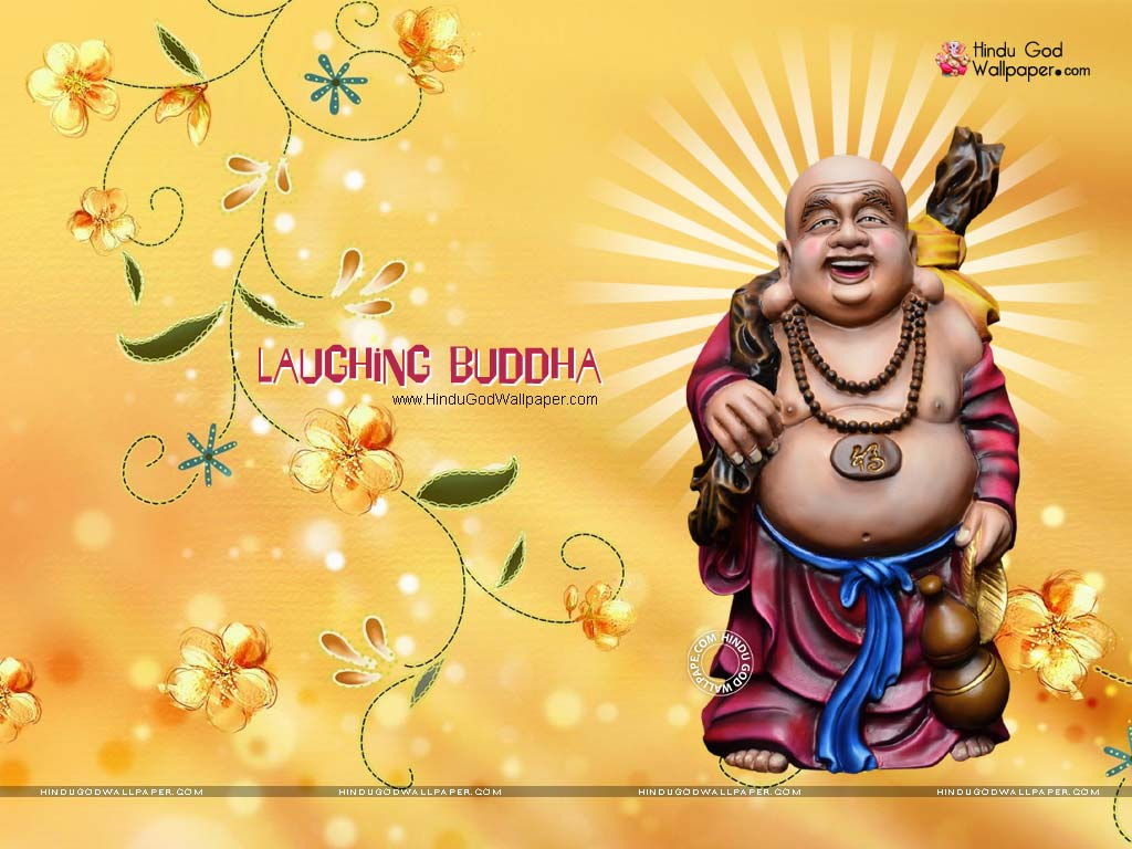 laughing buddha 3d wallpaper