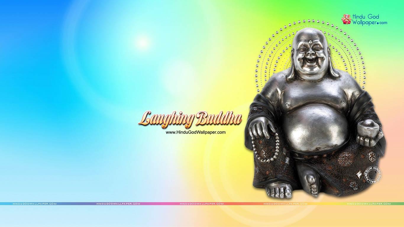 laughing buddha hd wallpaper