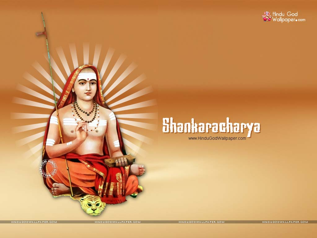 Sanskrit Of The Vedas Vs Modern Sanskrit: Beautiful Adi Shankara Wallpaper HD Photos Images Free