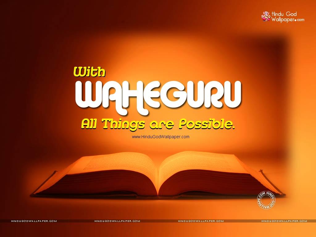 waheguru quotes wallpaper