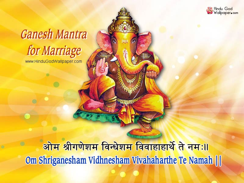 Powerful Ganesha Mantra for Marriage