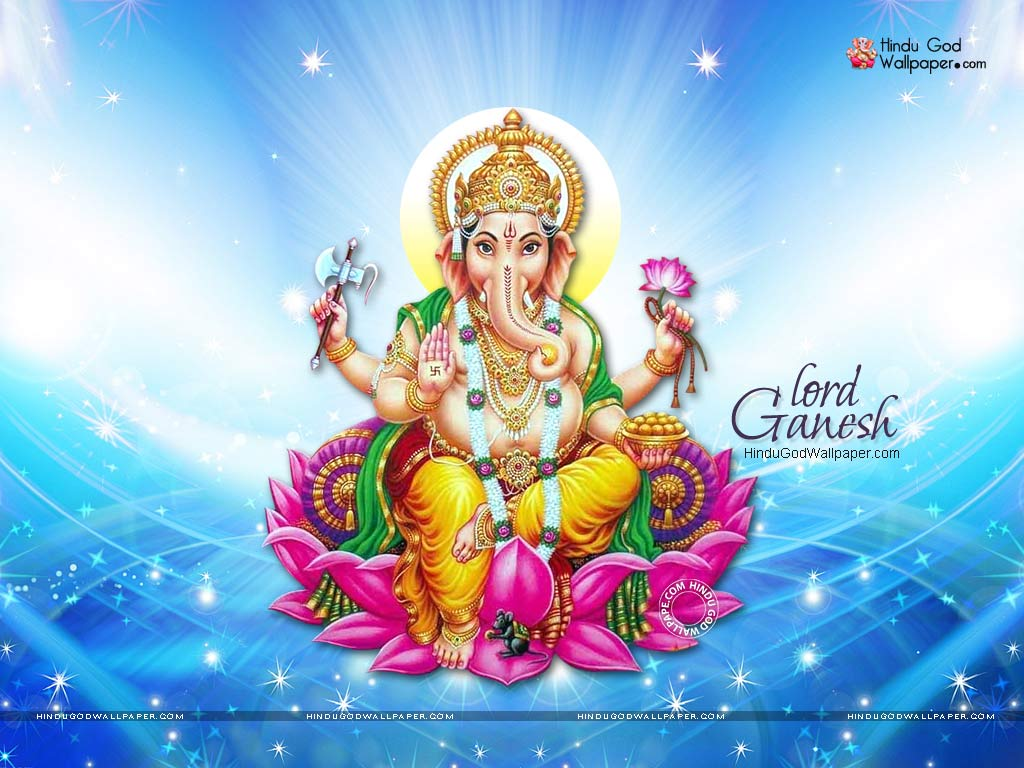 Beautiful Flower Ganesh Wallpapers Hd Images Photos Download