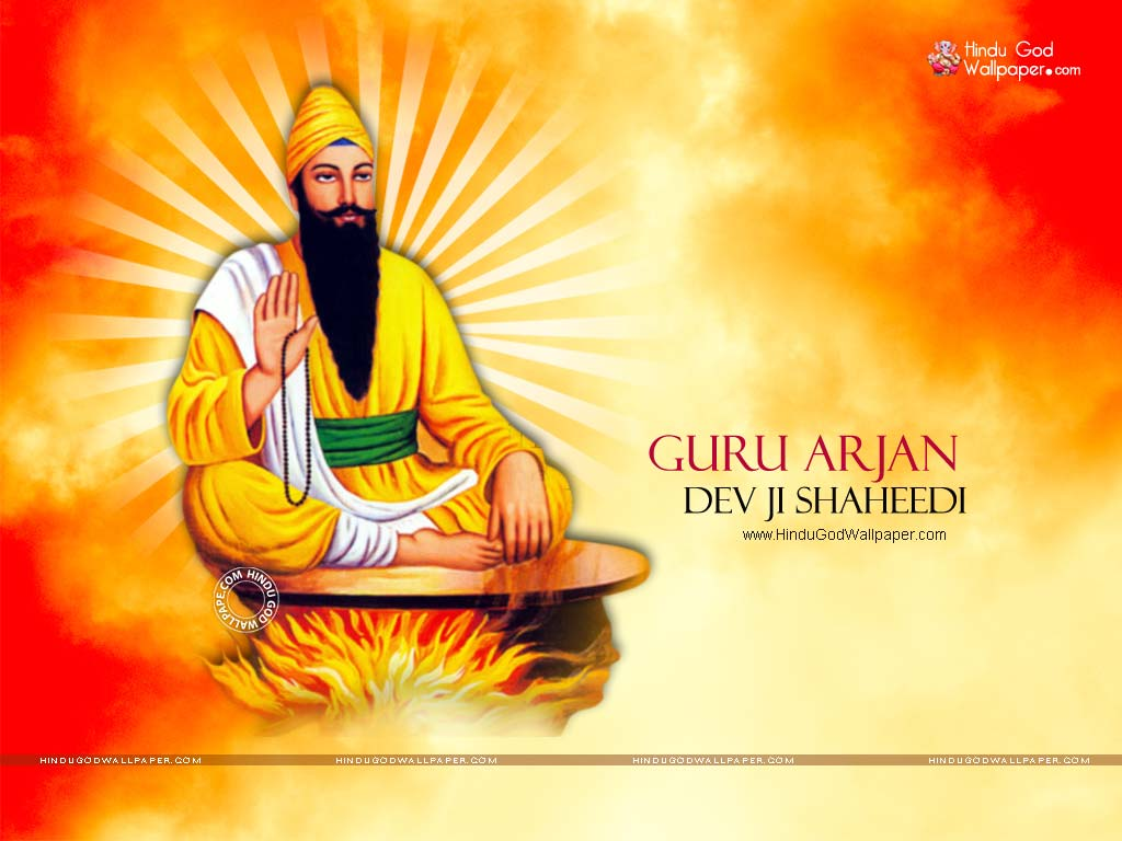 guru arjan dev ji shaheedi wallpapers
