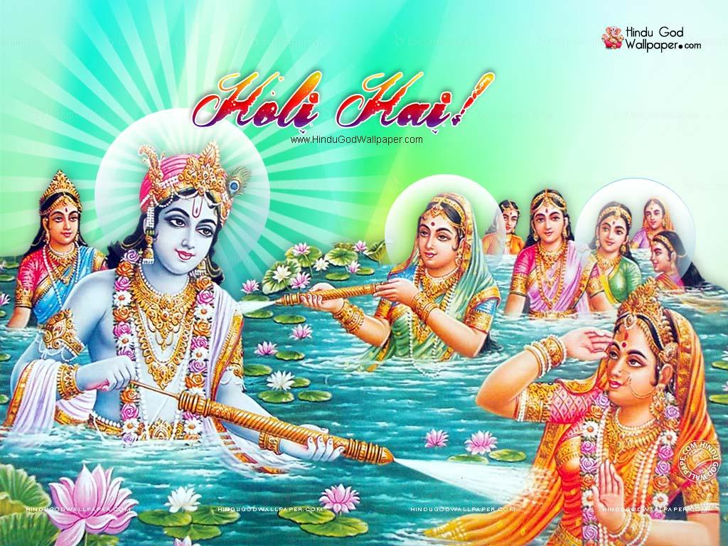 radha krishna holi wallpaper