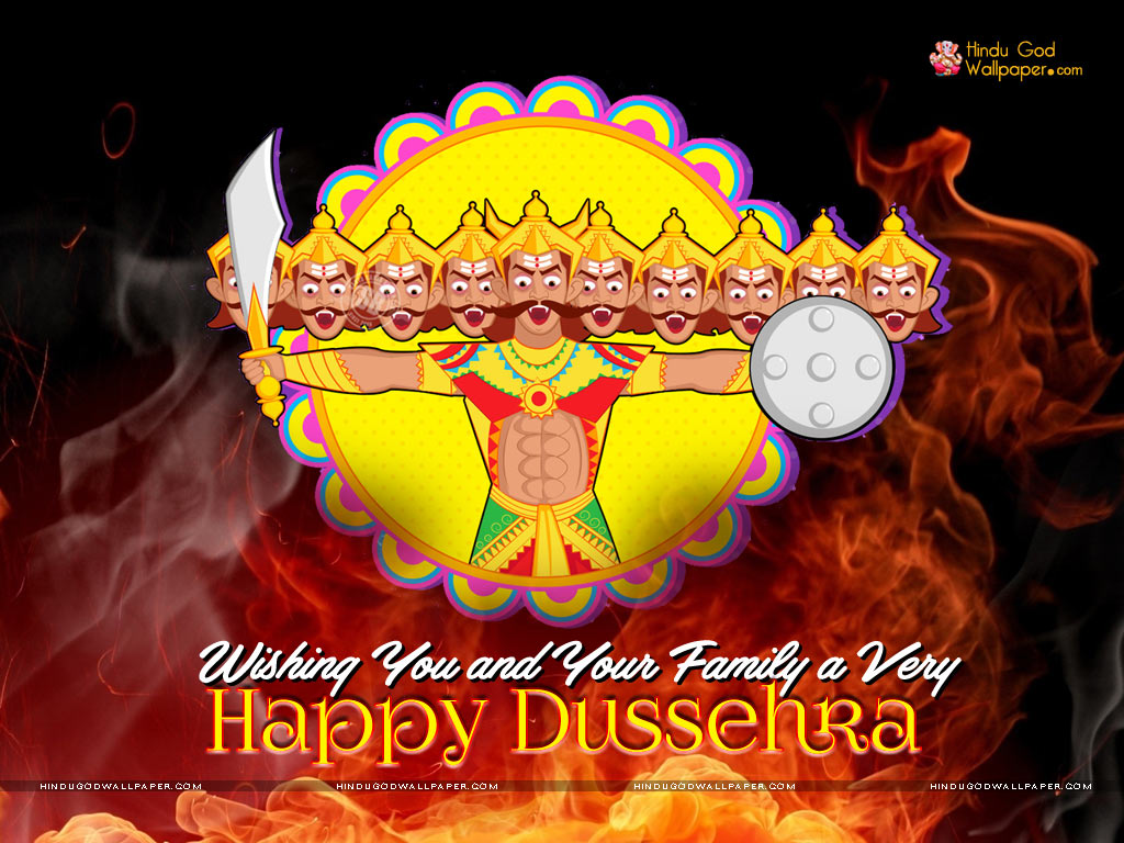 dussehra wishes wallpaper