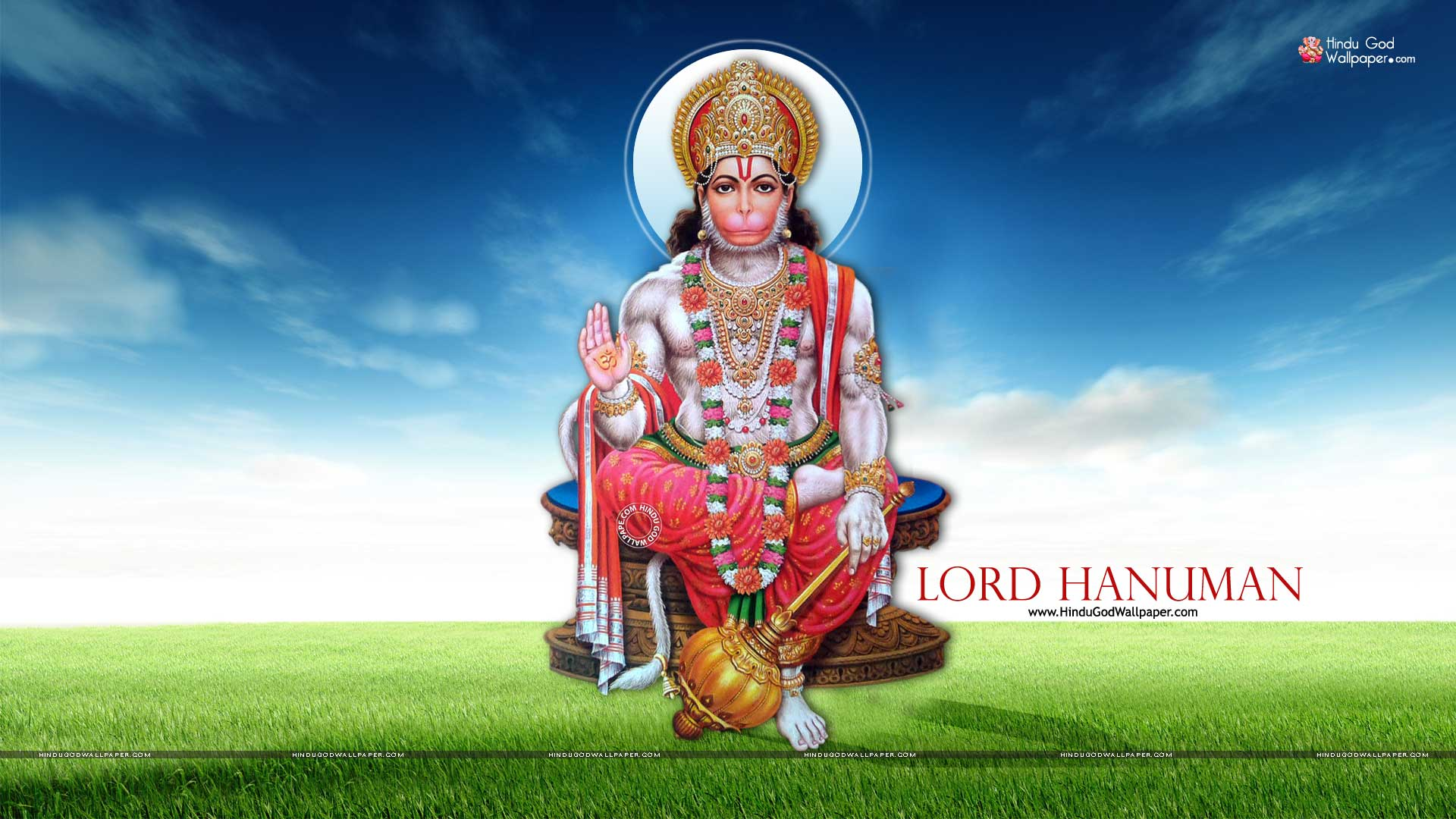 1080p Lord Hanuman Hd Wallpaper 1920x1080 Full Size Download