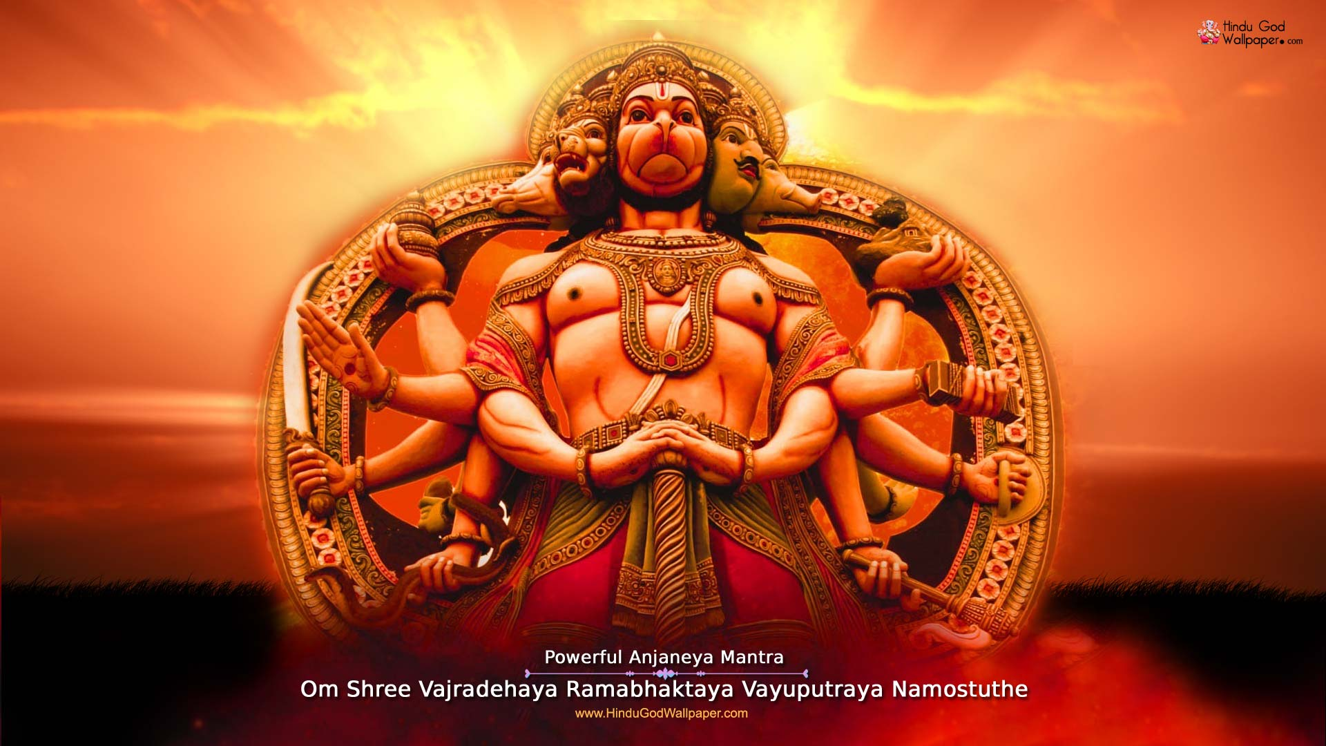 Panchmukhi Hanuman Wallpapers Hd Photos Images Download