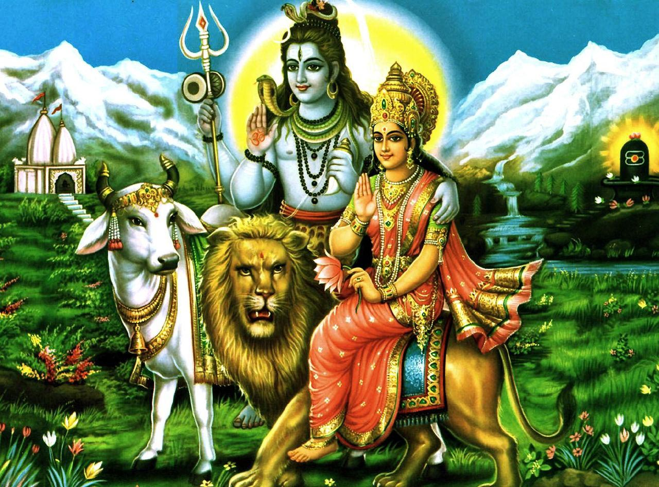 Lord Shiv Parvati Wallpaper Hd Images Photos Free Download
