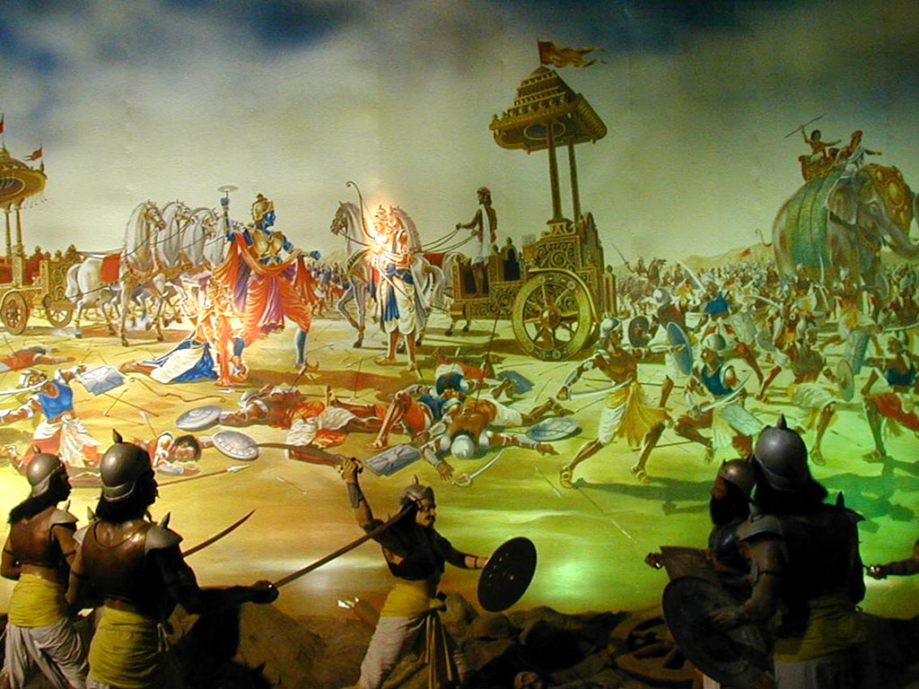 Krishna Mahabharat Wallpaper