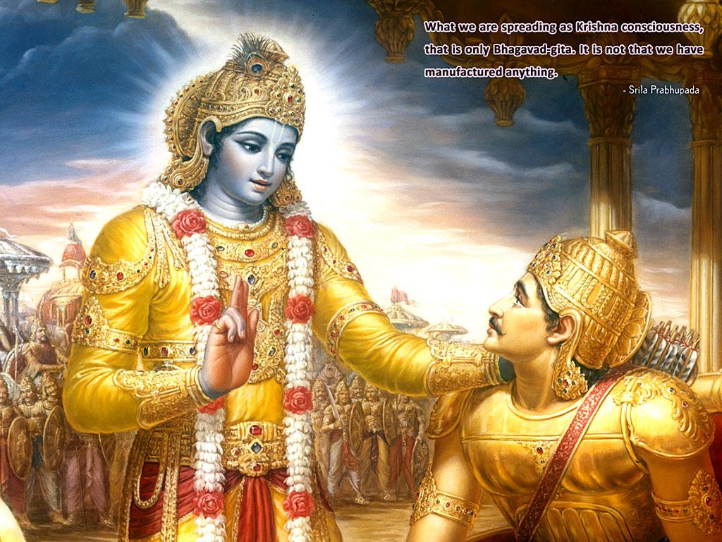 Shri Krishna Wallpaper Mahabharat