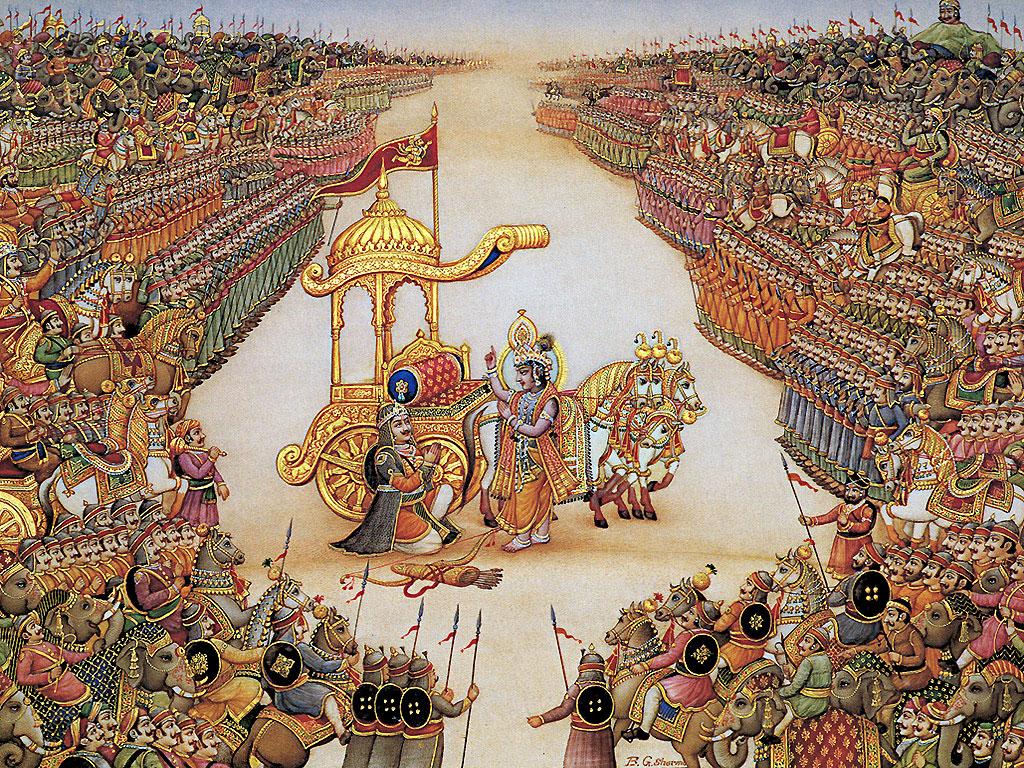 Mahabharata Krishna Image Wallpaper