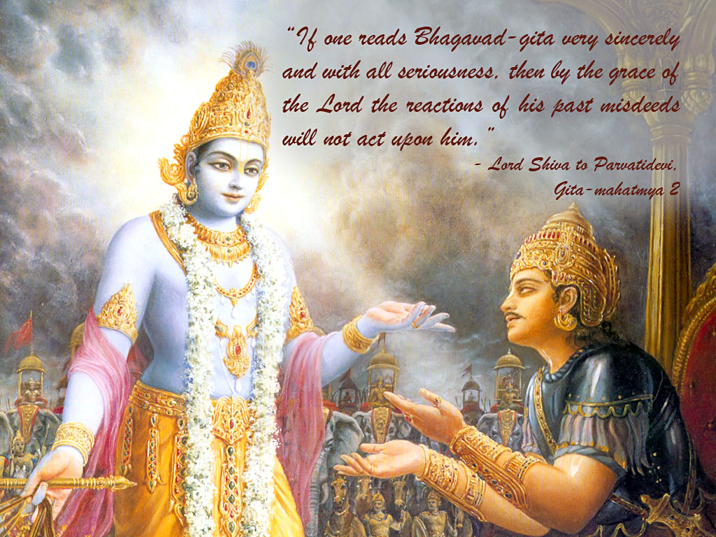 Lord Krishna Mahabharat Wallpapers