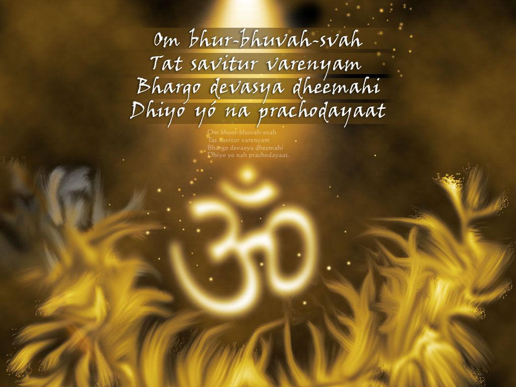 FREE Download Gayatri Mantra Wallpapers
