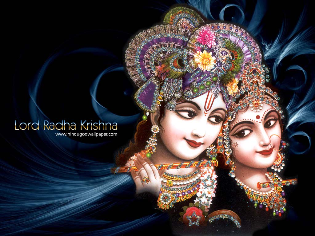 Krishna Radha Love Wallpaper The gallery for...