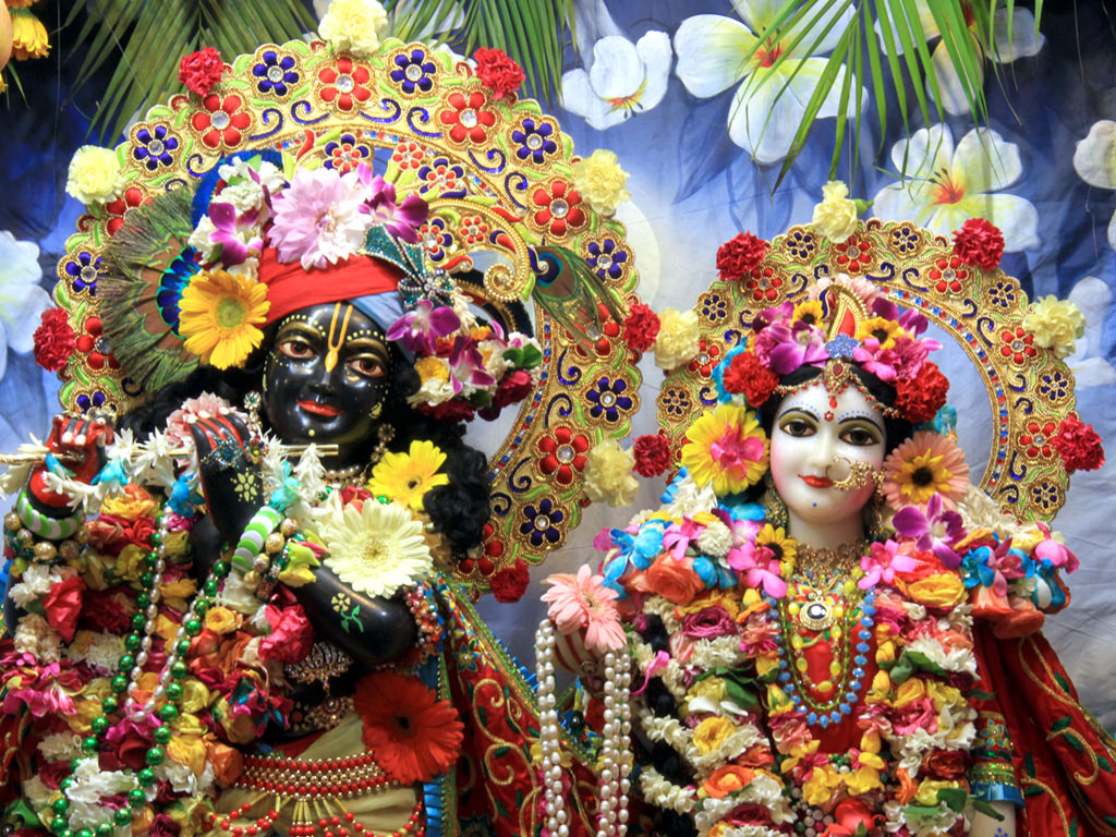 Iskcon Vrindavan Radha Krishna Images Wallpaper Download