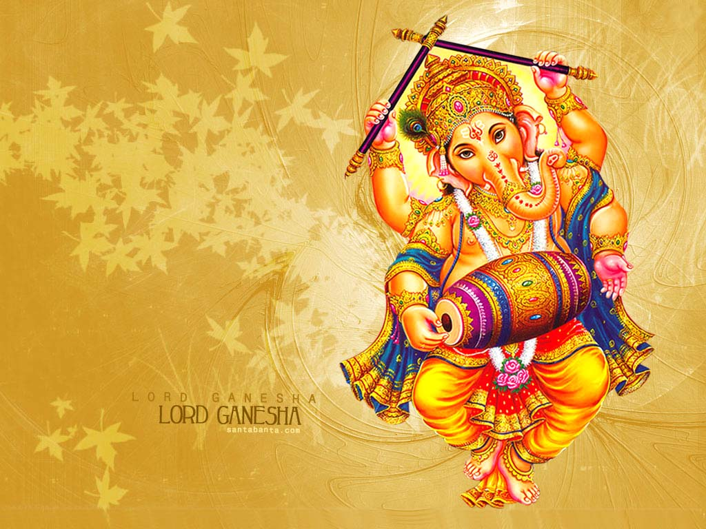 Dancing Lord Ganesh