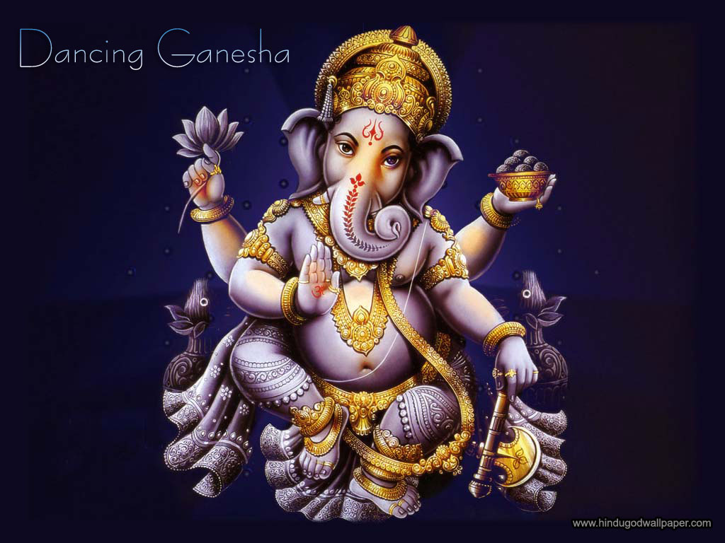 Dancing Lord Ganesha