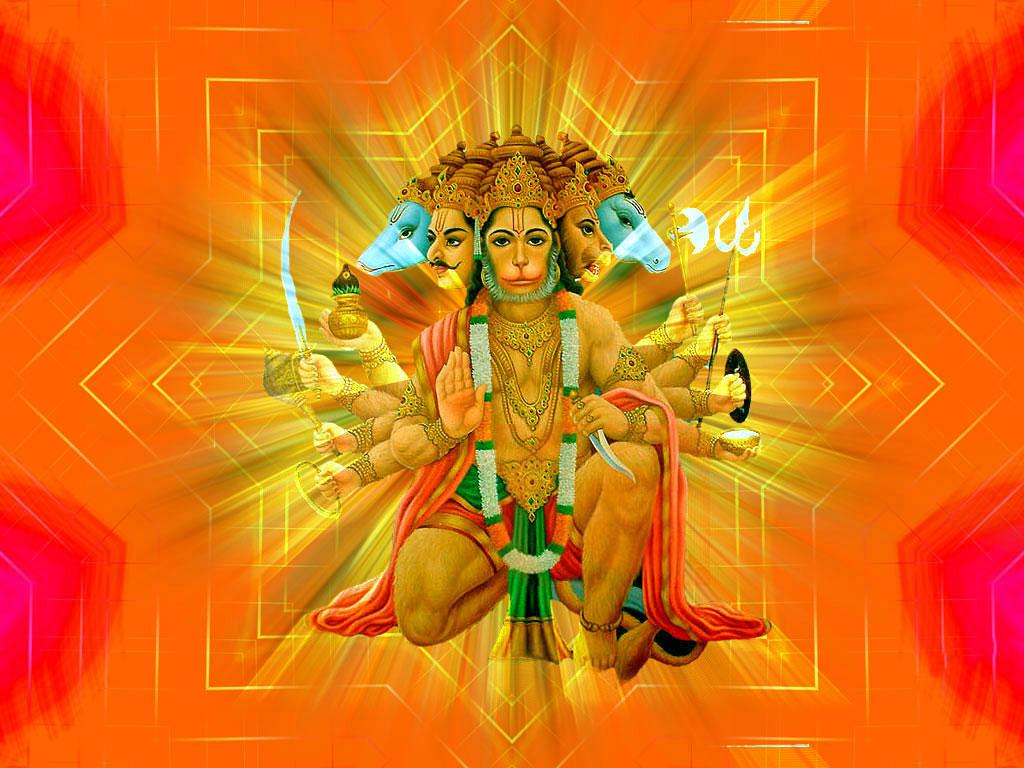 free 5 mukhi hanuman